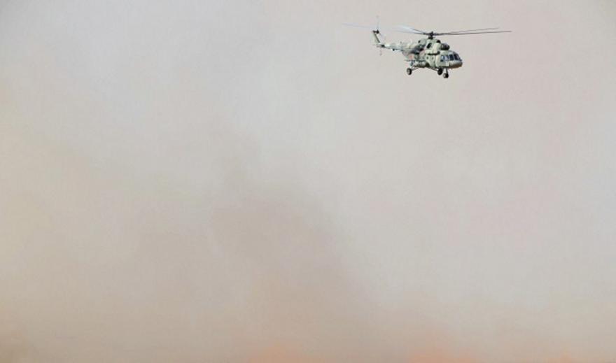 Επείγουσα προσγείωση ρωσικού ελικοπτέρου στη Συρία