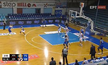 Ηρακλής-Ιωνικός: Θύμισε NBA ο Τολιόπουλος με τρίποντο από τα 9 μέτρα! (video)