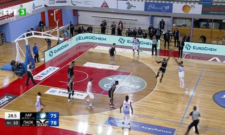 Λάρισα-ΠΑΟΚ: Απίθανος Σμιθ, έστειλε το παιχνίδι στην παράταση! (vid)