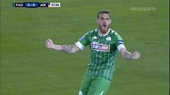 Παναθηναϊκός-ΑΕΚ: 1-0 με γκολάρα του Βέλεθ (video)