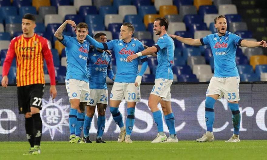Νάπολι-Μπενεβέντο 2-0