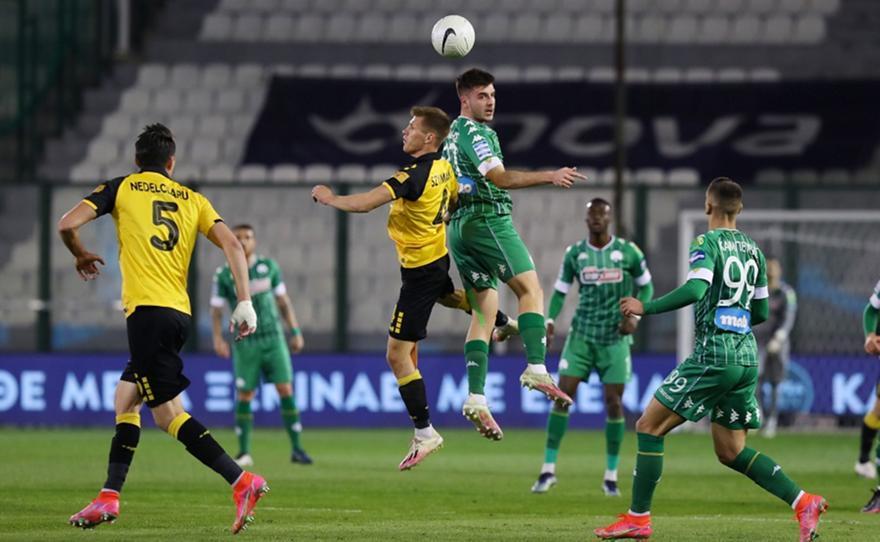 Παναθηναϊκός-ΑΕΚ 1-1