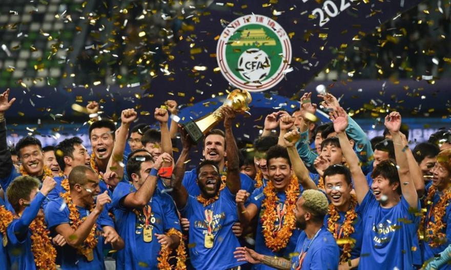 Τζιανγκσού: Διαλύθηκε η πρωταθλήτρια Κίνας