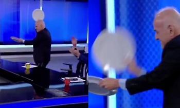 Χόρεψαν συρτάκι και… έσπασαν πιάτα για τον Πέλκα σε αθλητική εκπομπή της Τουρκίας! (video)