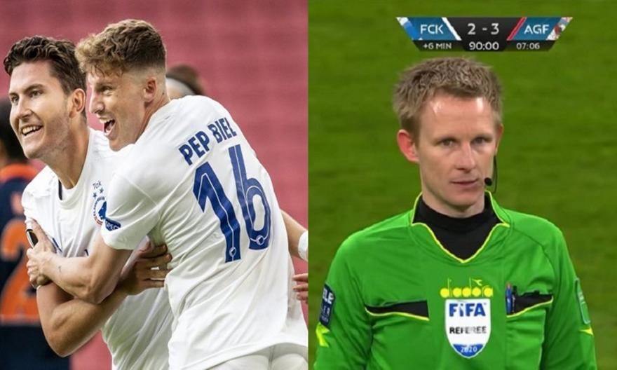 Κοπεγχάγη-Άαρχους: Έληξε 2-3, αλλά το VAR «έδωσε» πέναλτι για το 3-3
