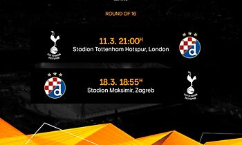 Europa League: Άλλαξε η σειρά των αγώνων στο Τότεναμ – Ντινάμο Ζάγκρεμπ