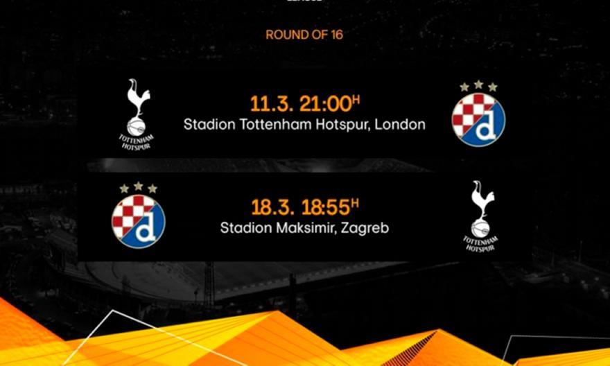 Europa League: Άλλαξε η σειρά των αγώνων στο Τότεναμ – Ντινάμο Ζάγκρε