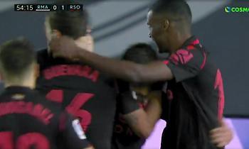 Ρεάλ Μαδρίτης- Ρεάλ Σοσιεδάδ: Η άπιαστη κεφαλιά του Πόρτου για το 0-1! (video)