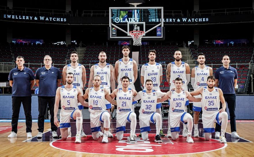 Έκτη στην κατάταξη της FIBA η Εθνική Ανδρών, ξεπέρασε τη Γαλλία!