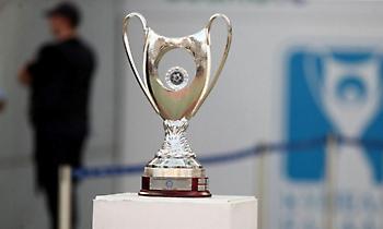 Κύπελλο Ελλάδας: Οι δύο πρώτοι για τα ημιτελικά