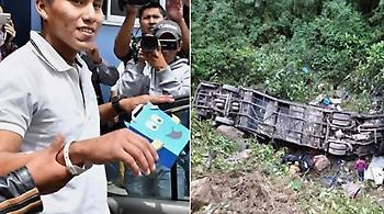 Επιζών της τραγωδίας της Τσαπεκοένσε γλίτωσε και από τροχαίο δυστύχημα λεωφορείου!