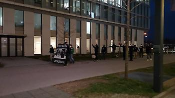 Οπαδοί του Παναθηναϊκού αποθέωσαν την ομάδα στο Μόναχο