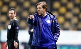 Μαρτίνς: «Ευλογημένος με την ομάδα, σπάνιο το γκολ του Μπουχαλάκη»
