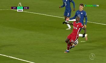 Απίστευτο «τσαφ» του Μανέ: Έψαχνε τη μπάλα στον αέρα!