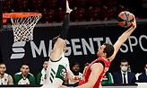 Η βαθμολογία της EuroLeague: Στη 15η θέση ο Παναθηναϊκός