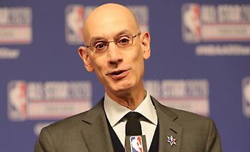 Σίλβερ: «Θα παραμείνει ίδιο το logo του NBA, δεν σκεφτόμαστε μία νέα ''φούσκα''»