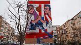 Καταπληκτικό γκράφιτι στη Μαδρίτη για το ντέρμπι της πόλης