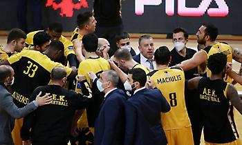Η παρακάμερα της νίκης της AEK επί του Μεσολογγίου