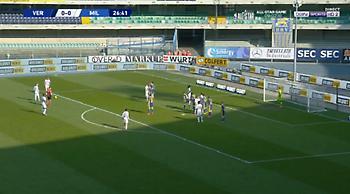 Βερόνα-Μίλαν: 0-1 με τρελή φαουλάρα του Κρούνιτς (video)