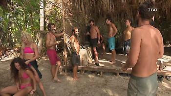 Survivor: Ένταση στις δύο ομάδες με Κοψιδά και Τζέιμς