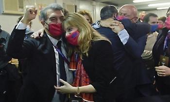 Οι έξαλλοι πανηγυρισμοί στο... στρατόπεδο Λαπόρτα για την εκλογή του! (video)