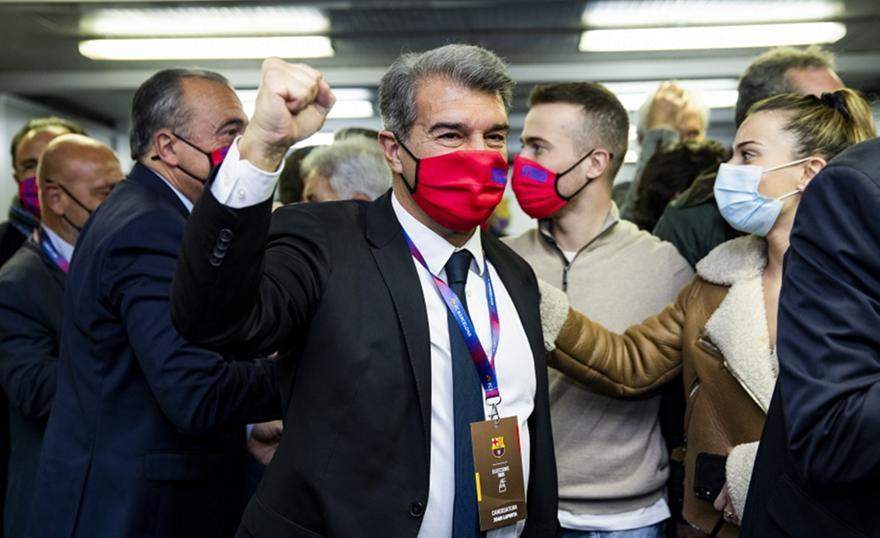 Λαπόρτα: Επέστρεψε στην προεδρία της Μπαρτσελόνα