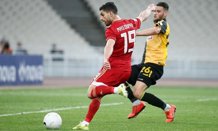 ΑΕΚ-Ολυμπιακός: Τρομερή πάσα Ελ Αραμπί και 4-0 ο Μασούρας!