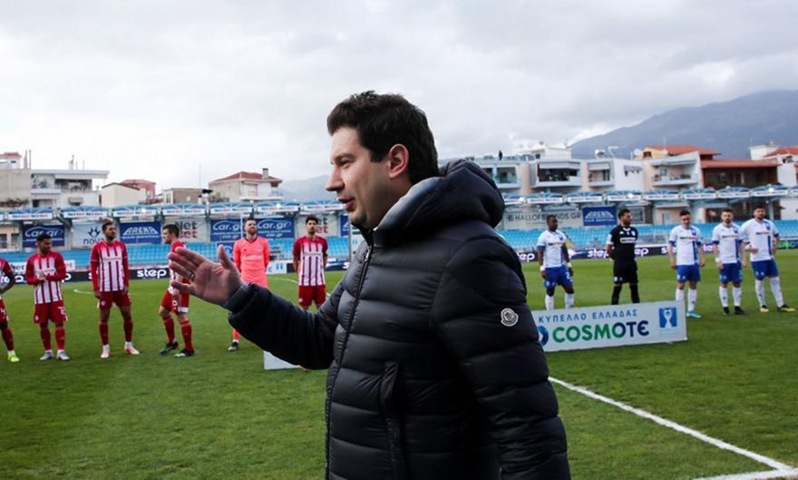 Γιαννίκης: «Είμαι ευχαριστημένος, μπορούσαμε δεύτερο γκολ»