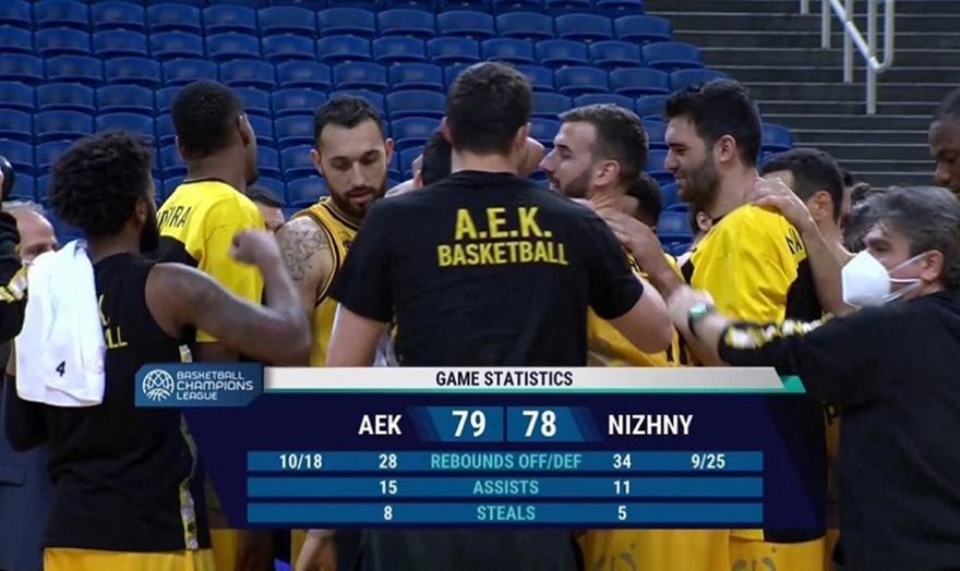 ΑΕΚ-Νίζνι: Τα highlights του ματς