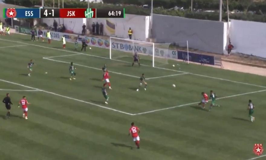 Μαγικό γκολ στο πρωτάθλημα Τυνησίας
