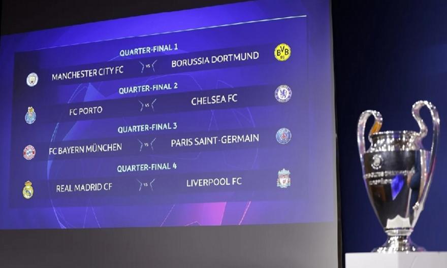Poll sport-fm.gr: Οι 4 των ημιτελικών του Champions League