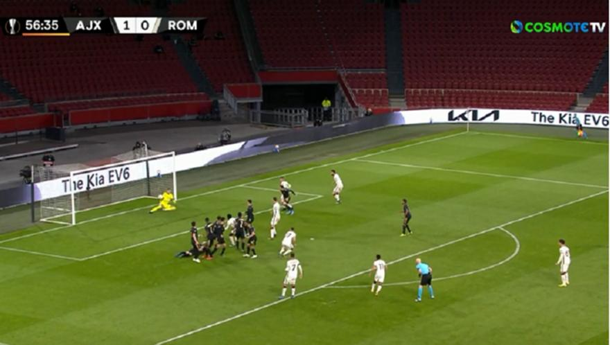 Άγιαξ-Ρόμα: Απίστευτο blooper του Σχέρπεν για το 1-1!