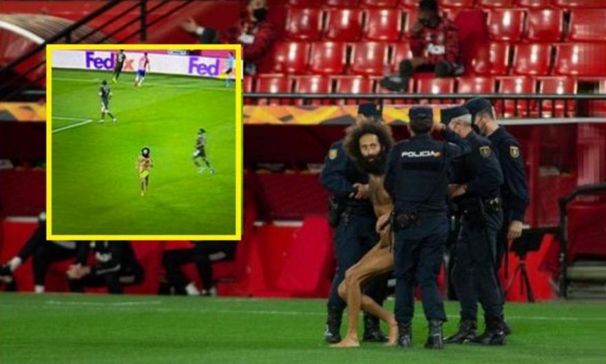 Ο γυμνός εισβολέας της Γρανάδα κρυβόταν…14 ώρες στο γήπεδο!