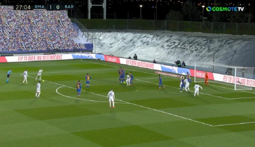 Ρεάλ Μαδρίτης-Μπαρτσελόνα: 2-0 με τον Κρόος και... κόντρες!