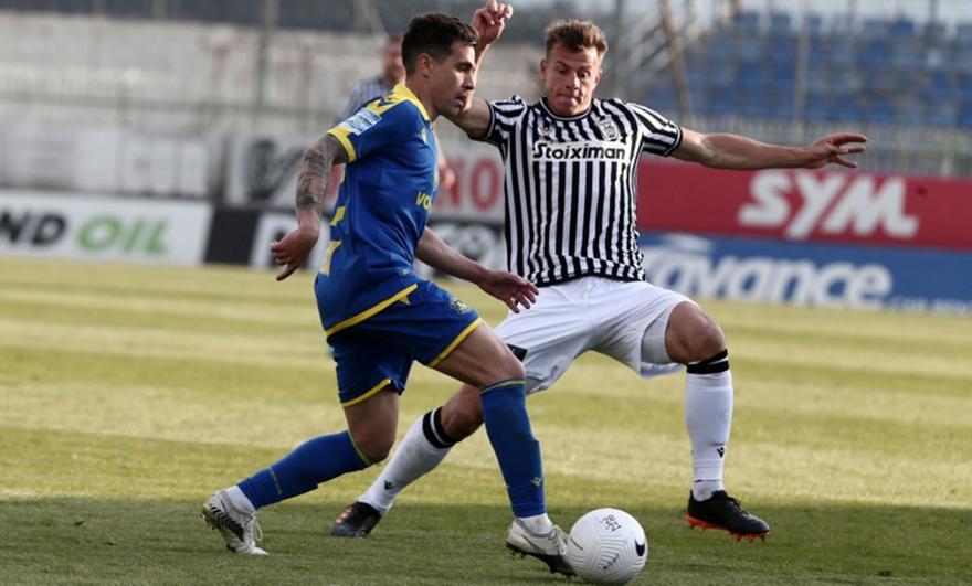 Αστέρας Τρίπολης-ΠΑΟΚ 1-1