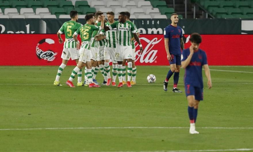 Μπέτις-Ατλέτικο Μαδρίτης 1-1