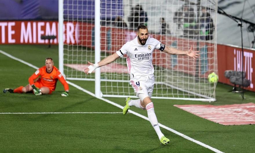 Ρεάλ Μαδρίτης-Μπαρτσελόνα 2-1