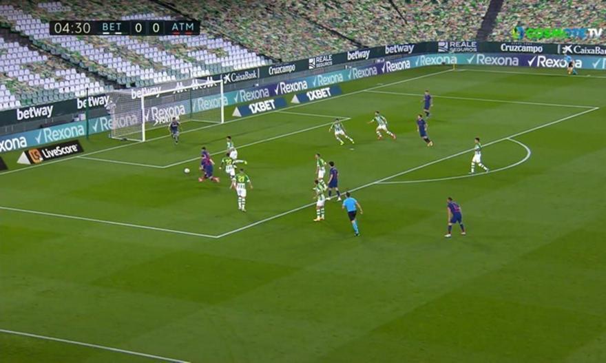 Μπέτις-Ατλέτικο Μαδρίτης: Τα highlights του ματς