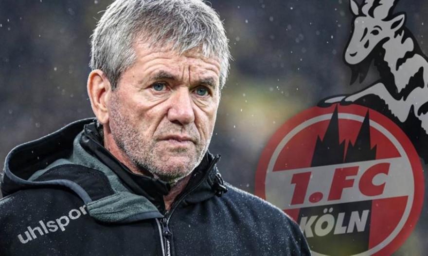 Κολωνία: Ανελαβε ο Φούνκελ μέχρι το τέλος της σεζόν