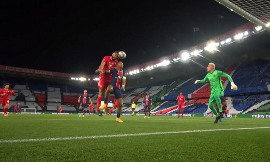 Παρί Σεν Ζερμέν-Μπάγερν Μονάχου: Το 0-1 από τον Τσούπο-Μότι
