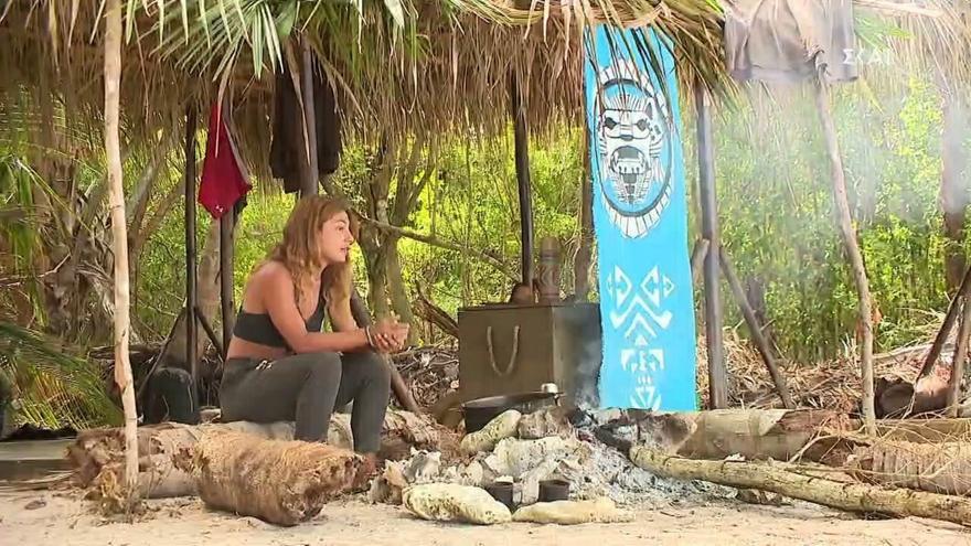 Survivor: Η Μαριαλένα μιλάει μόνη της (video)