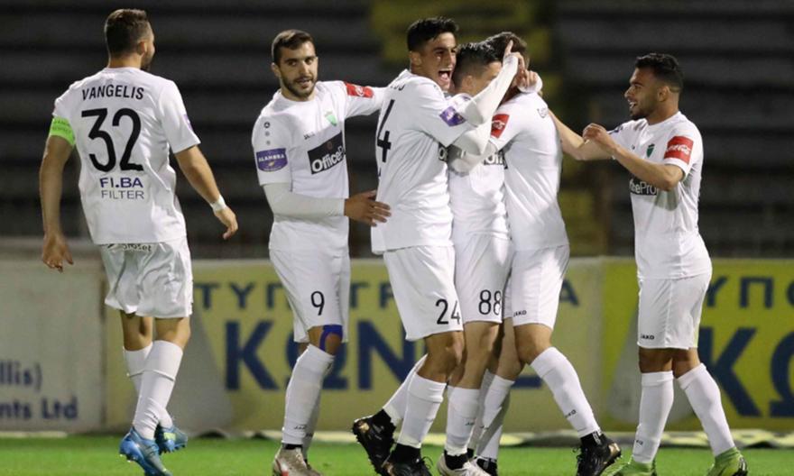 Ολυμπιακός Λευκωσίας-ΑΕ Λεμεσού: 4-2