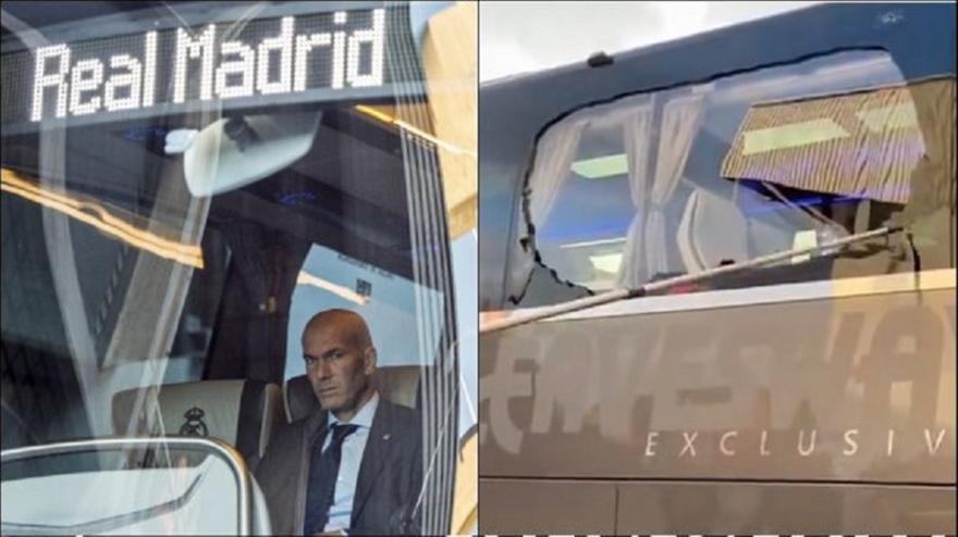 Ρεάλ Μαδρίτης: Πέταξαν πέτρες στο πούλμαν της!
