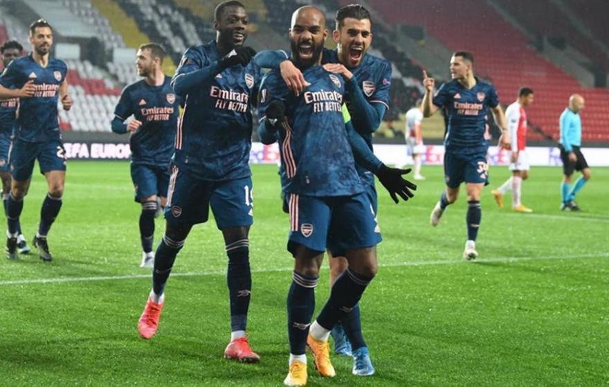 Σλάβια Πράγας-Άρσεναλ: 0-4