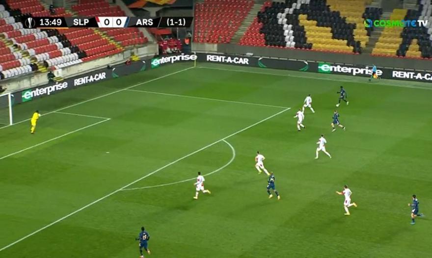 Σλάβια Πράγας-Άρσεναλ: Τα highlights του ματς