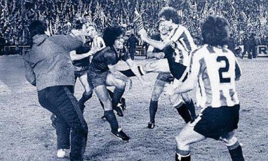 Μπιλμπάο-Μπαρτσελόνα: Το άγριο ξύλο στον τελικό του 1984