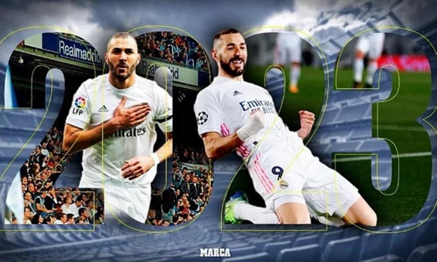 Ρεάλ Μαδρίτης και Μπενζεμά συνεχίζουν μαζί μέχρι το 2023