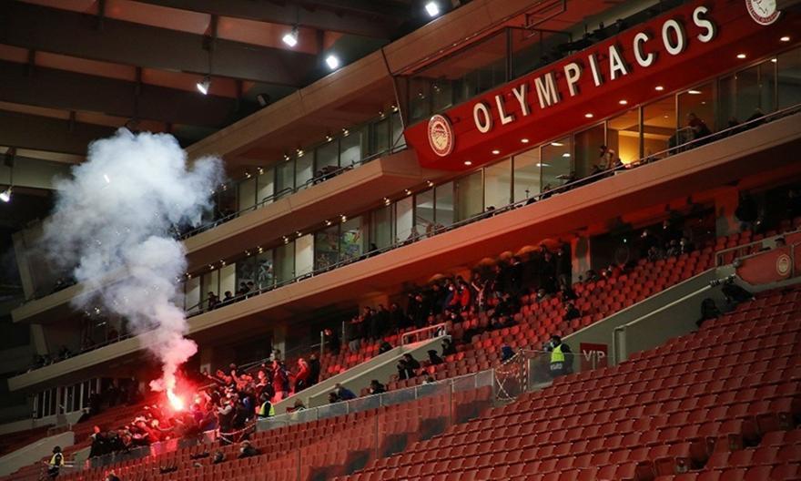 Δύο αγωνιστικές στον Ολυμπιακό για τα επεισόδια στο ντέρμπι