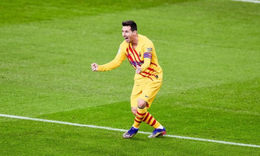 Μέσι: Πρώτος σκόρερ σε τελικούς Κυπέλλου Ισπανίας