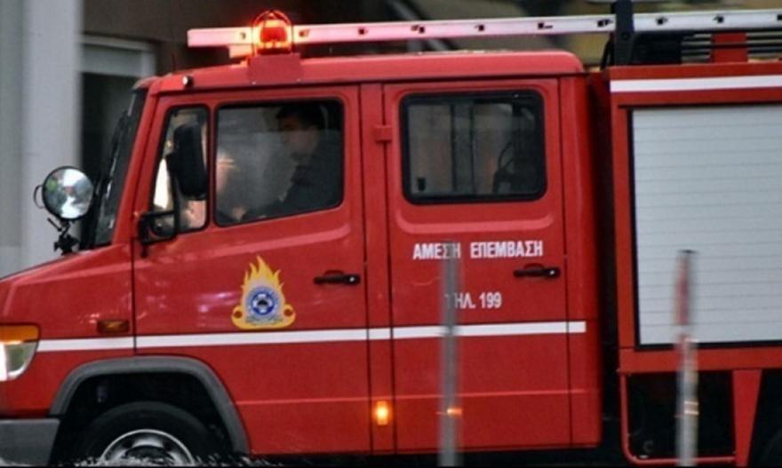 Πυρκαγιά σε σπίτι στη Νέα Ερυθραία